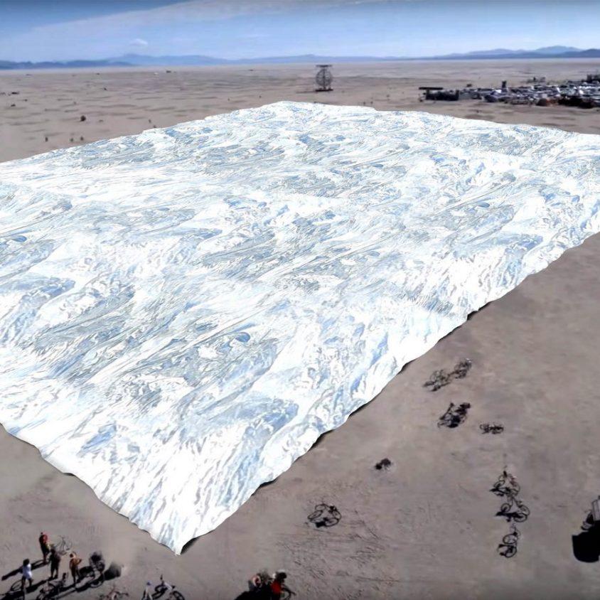 Una manta espacial gigante 1