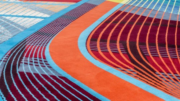 Las alfombras RE / Form de Zaha Hadid Design 21