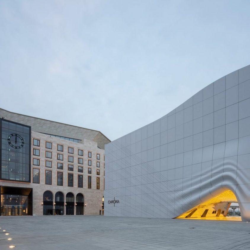 El complejo de arte y entretenimiento de MVRDV 19