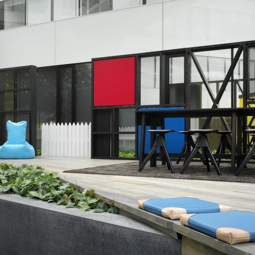 El renovado espacio de trabajo de Adidas 9
