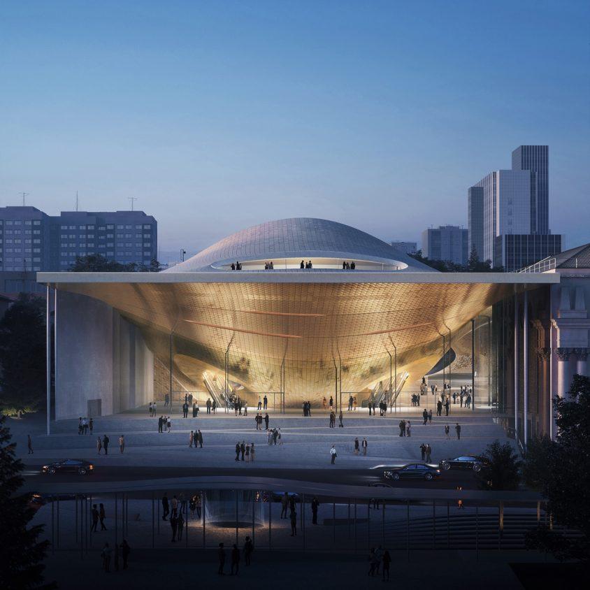 Zaha Hadid Architects fue elegida para construir una sala de conciertos 1
