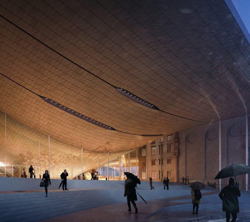 Zaha Hadid Architects fue elegida para construir una sala de conciertos 3