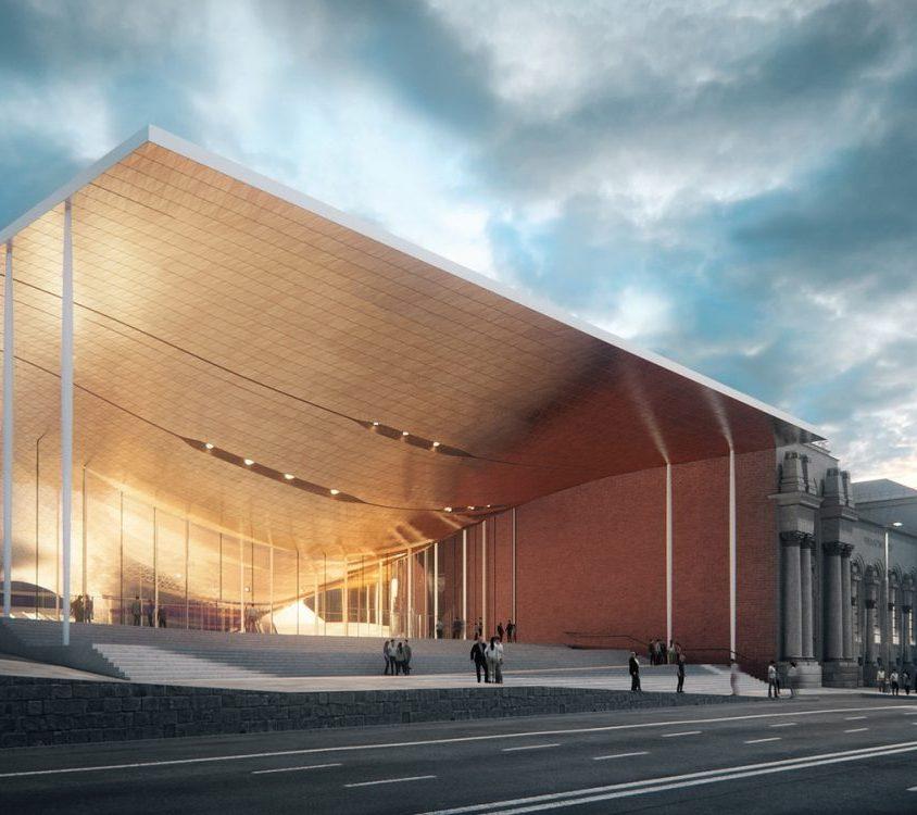Zaha Hadid Architects fue elegida para construir una sala de conciertos 4
