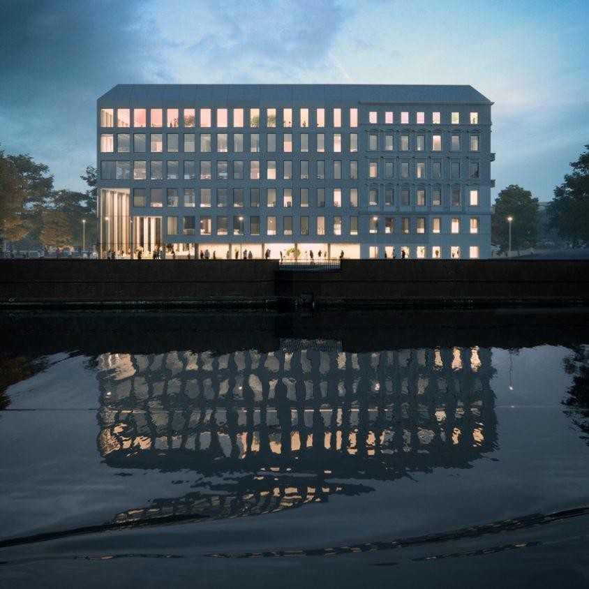 La renovación de un edificio histórico por MVRDV 3