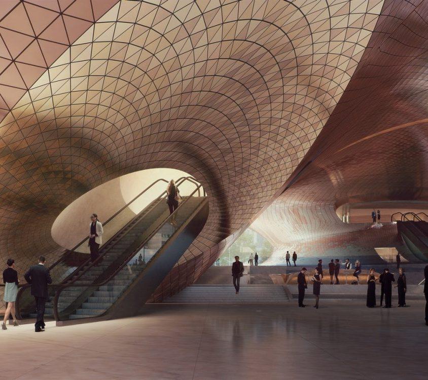 Zaha Hadid Architects fue elegida para construir una sala de conciertos 5