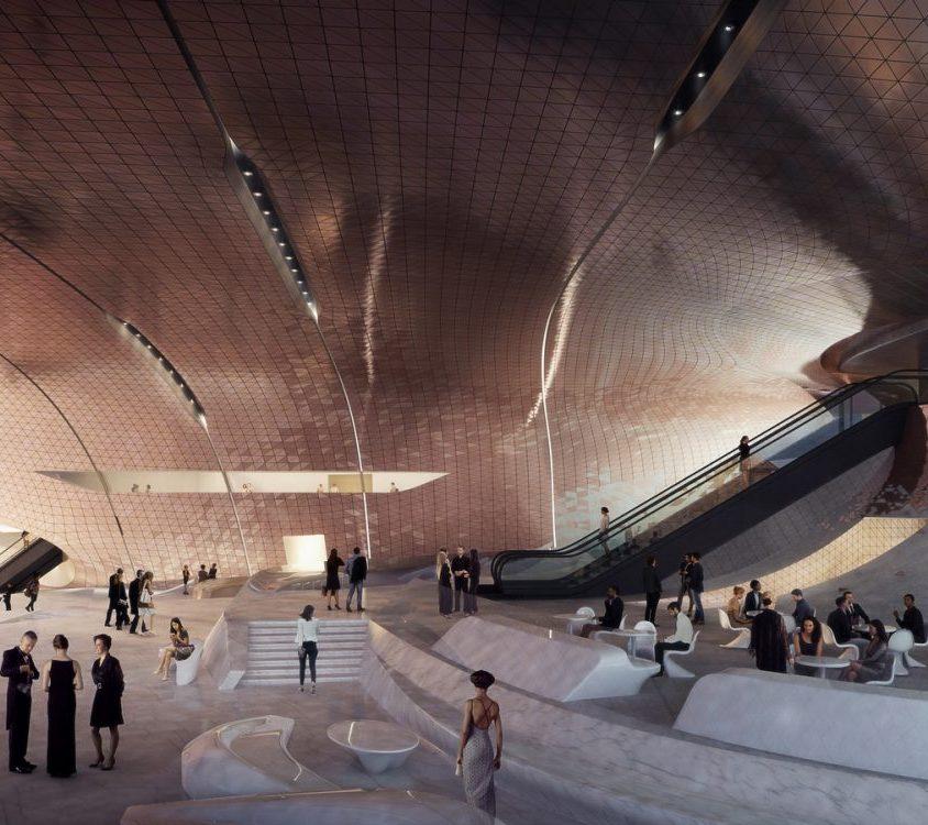 Zaha Hadid Architects fue elegida para construir una sala de conciertos 7