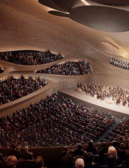Zaha Hadid Architects fue elegida para construir una sala de conciertos 12