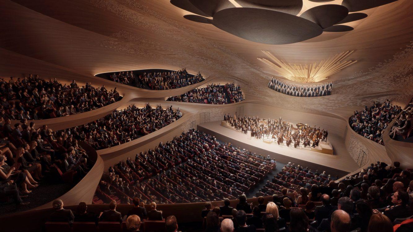 Zaha Hadid Architects fue elegida para construir una sala de conciertos 11