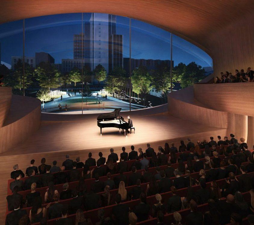 Zaha Hadid Architects fue elegida para construir una sala de conciertos 9