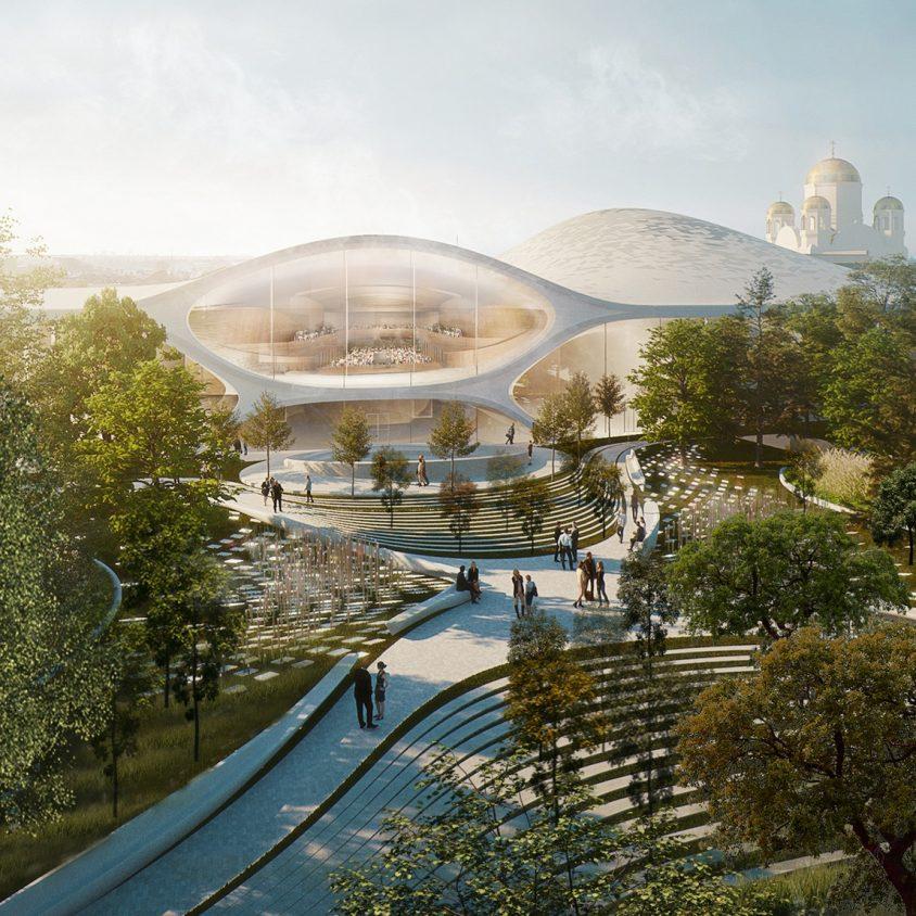 Zaha Hadid Architects fue elegida para construir una sala de conciertos 10