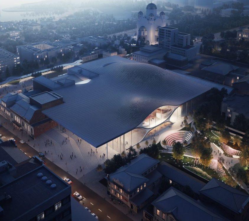 Zaha Hadid Architects fue elegida para construir una sala de conciertos 6