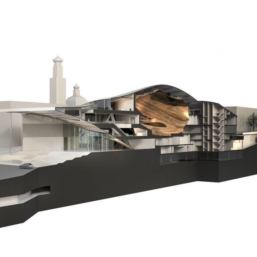 Zaha Hadid Architects fue elegida para construir una sala de conciertos 2