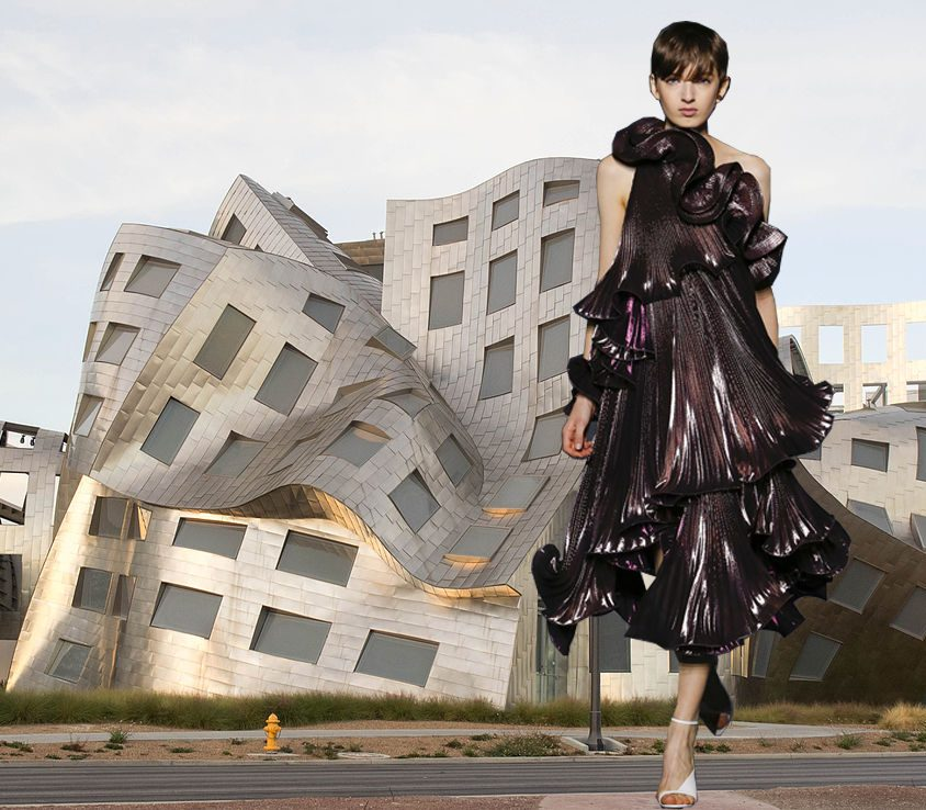 La justa combinación entre moda y arquitectura 2