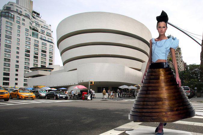 La justa combinación entre moda y arquitectura 9