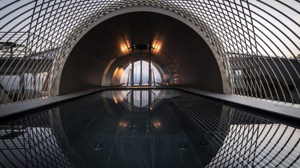 Los arcos del hotel Gloriette 20
