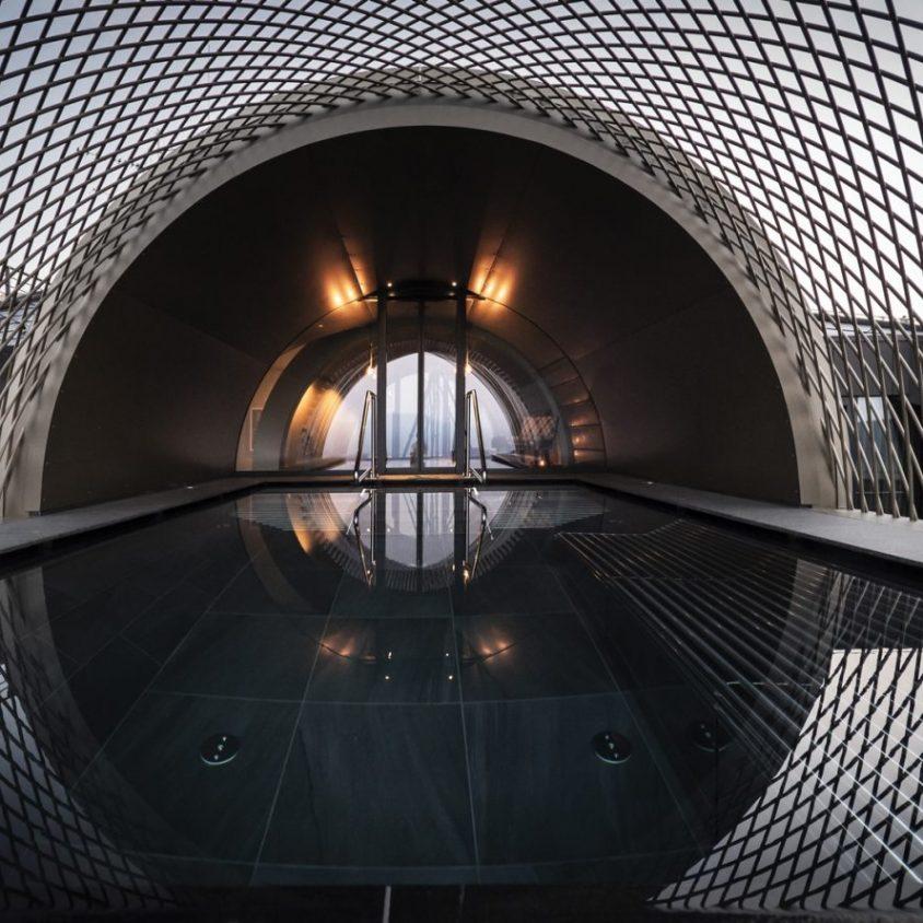 Los arcos del hotel Gloriette 26