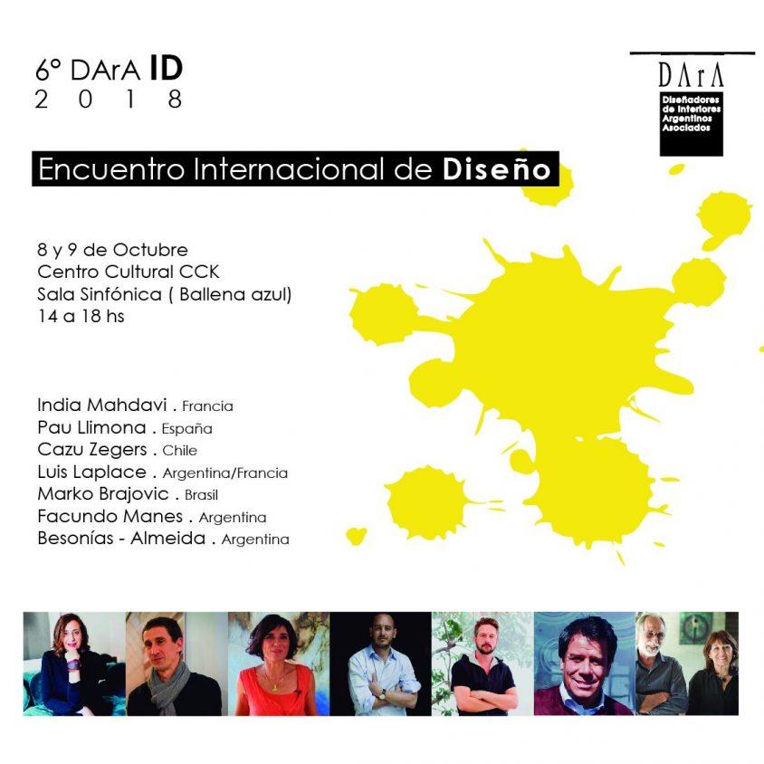 Llega el 6º Encuentro Internacional de Diseño 1