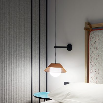 El nuevo hotel con estilo bohemio moderno 16