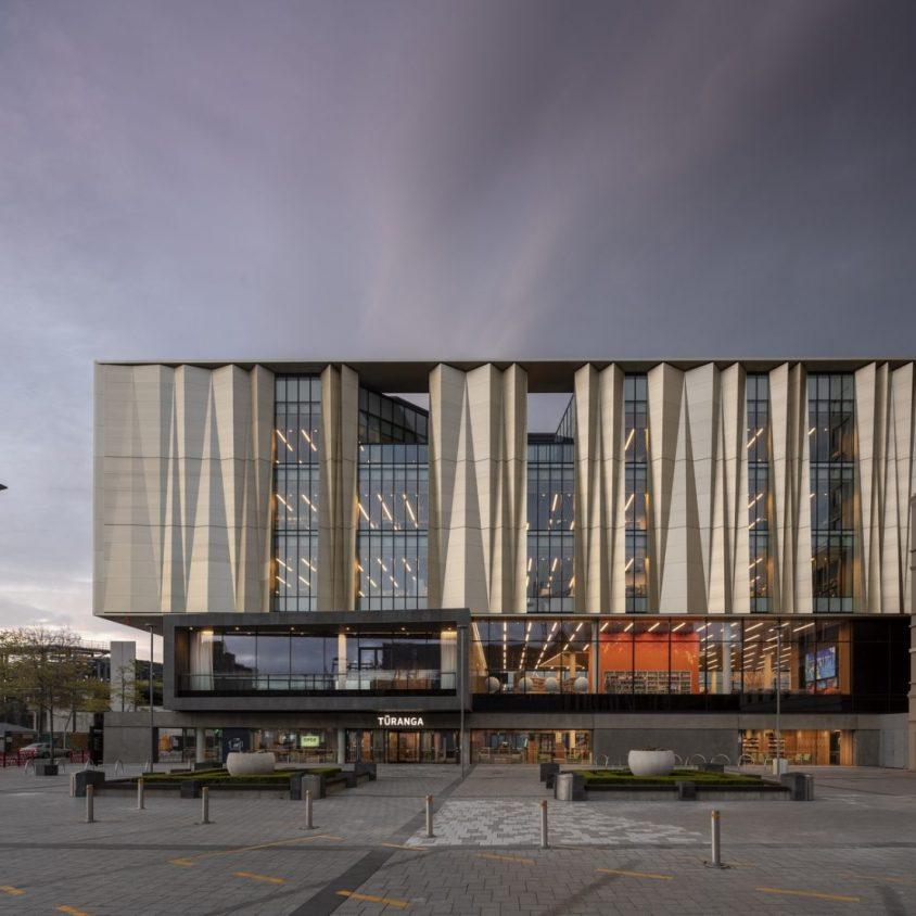 Turanga, una biblioteca con protección sísmica 8