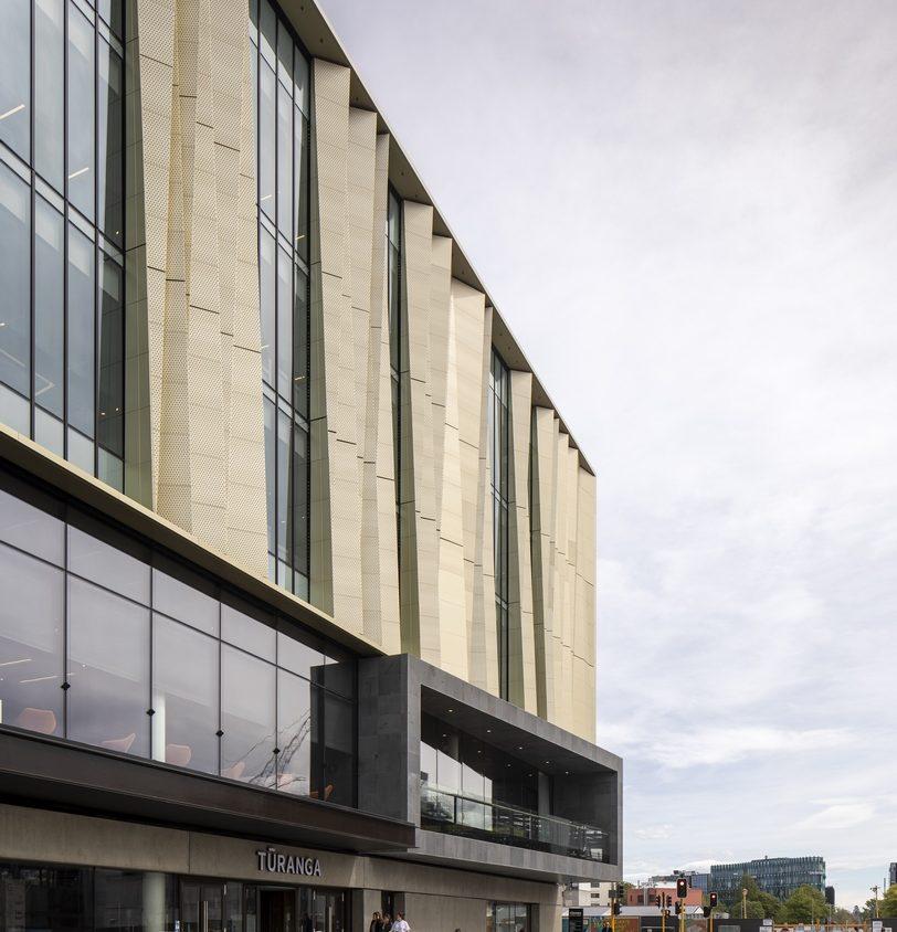 Turanga, una biblioteca con protección sísmica 21