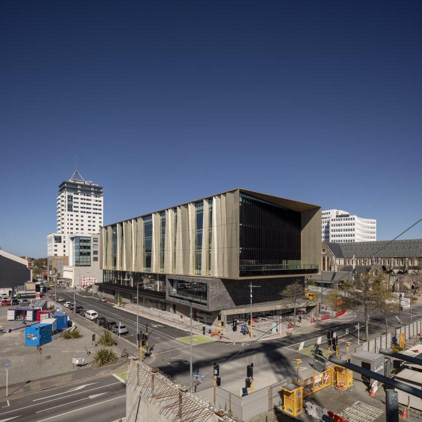 Turanga, una biblioteca con protección sísmica 4
