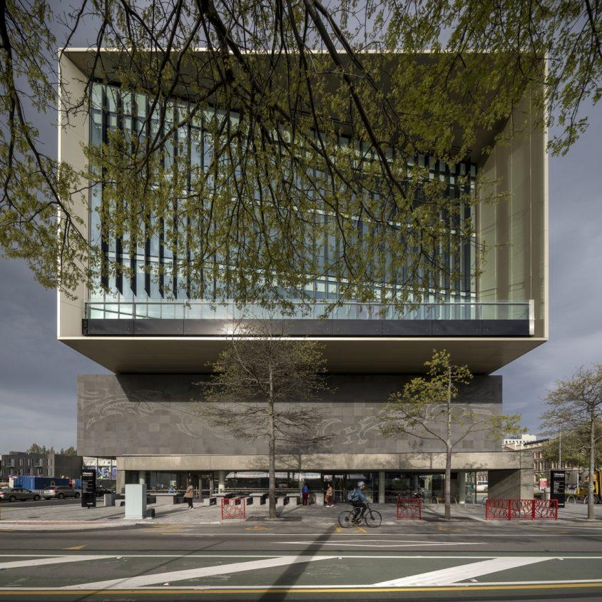 Turanga, una biblioteca con protección sísmica 11