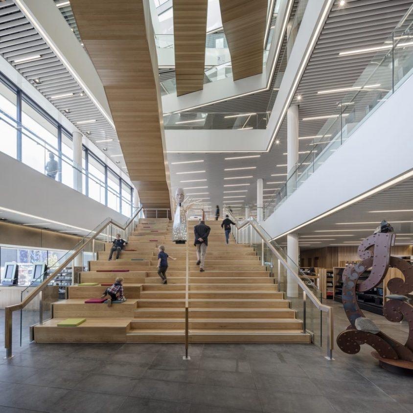 Turanga, una biblioteca con protección sísmica 13