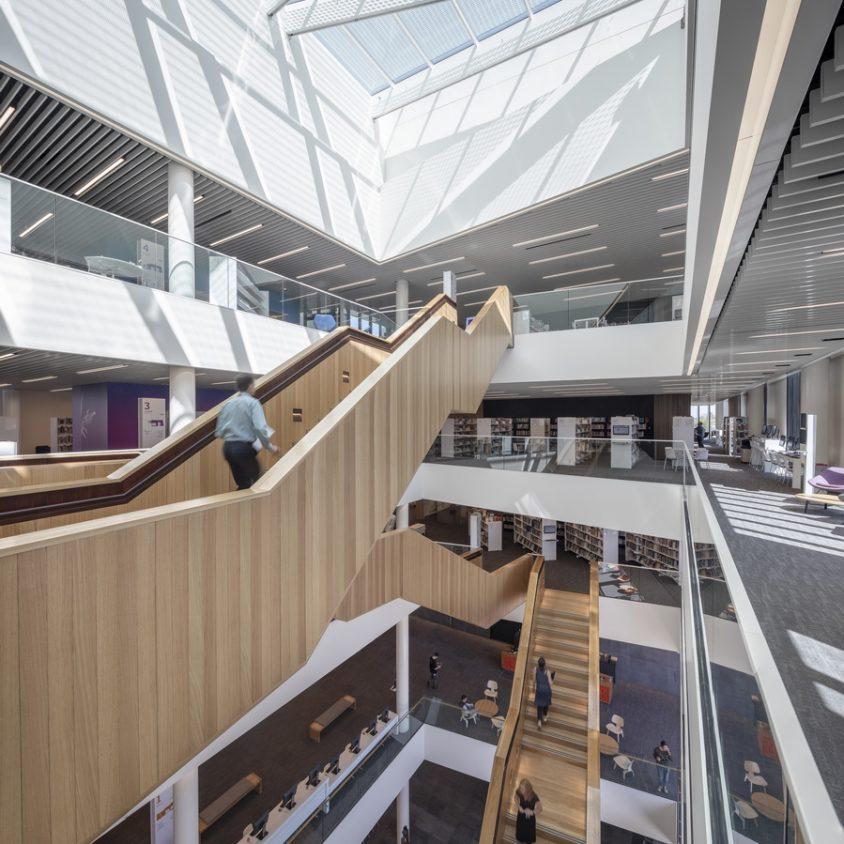 Turanga, una biblioteca con protección sísmica 15