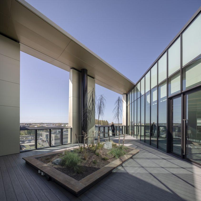 Turanga, una biblioteca con protección sísmica 16