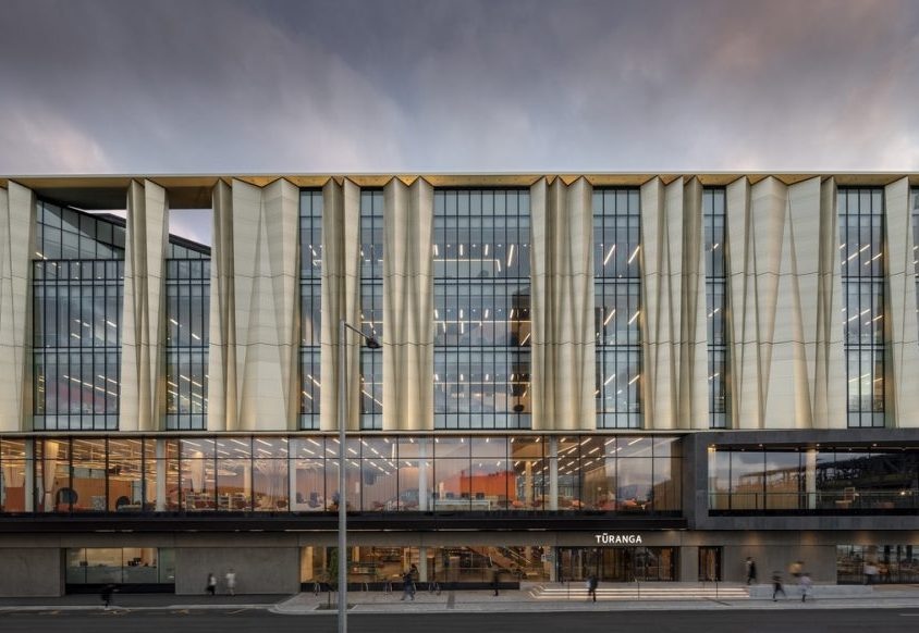 Turanga, una biblioteca con protección sísmica 6