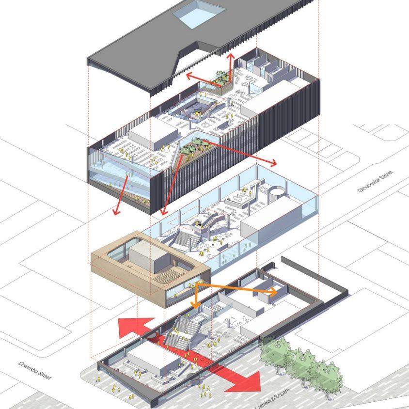 Turanga, una biblioteca con protección sísmica 2