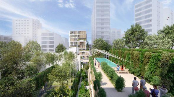Los espacios verdes de Alley en plena ciudad 8