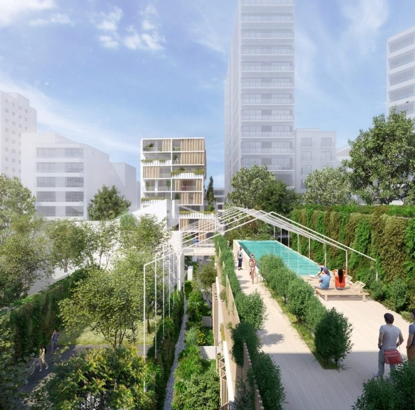 Los espacios verdes de Alley en plena ciudad 4