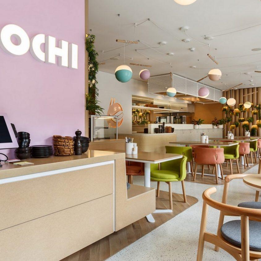 El restaurante Bao Mochi con estilo oriental 9