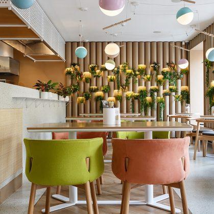 El restaurante Bao Mochi con estilo oriental 11