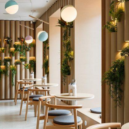 El restaurante Bao Mochi con estilo oriental 12