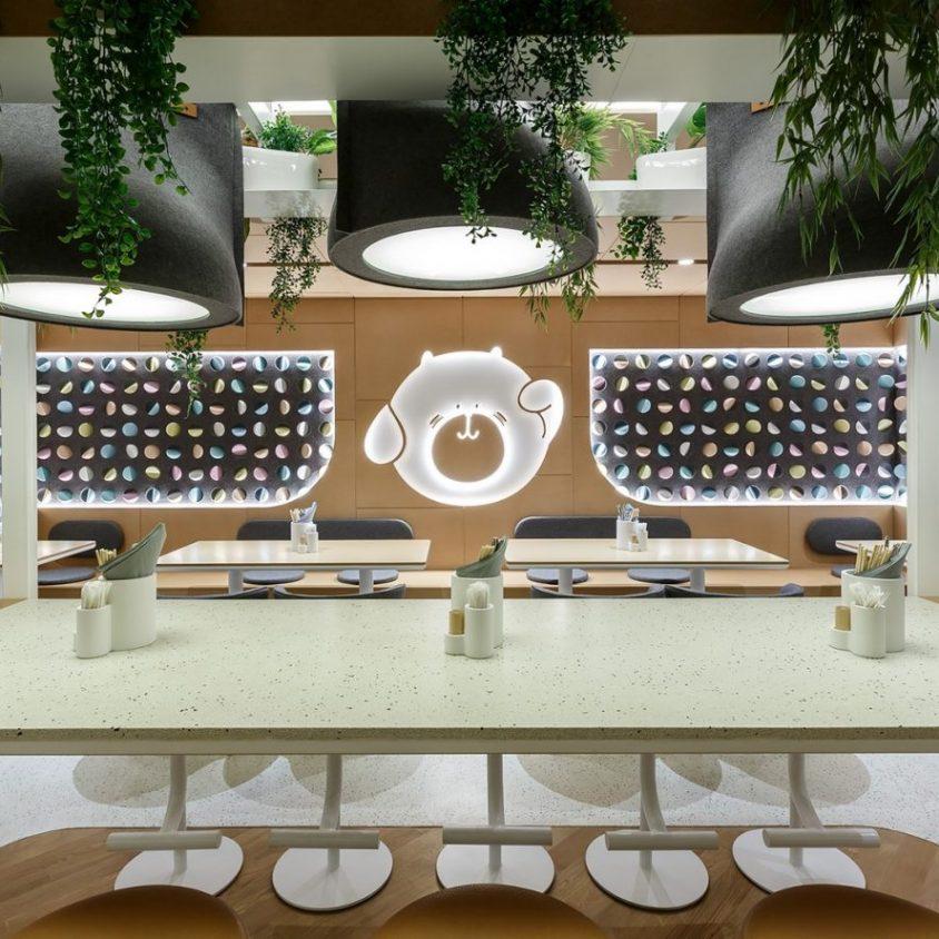 El restaurante Bao Mochi con estilo oriental 4