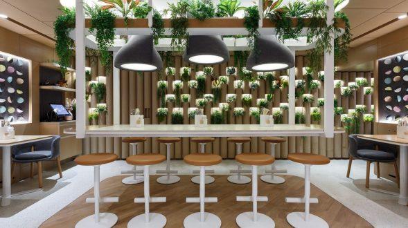 El restaurante Bao Mochi con estilo oriental 16