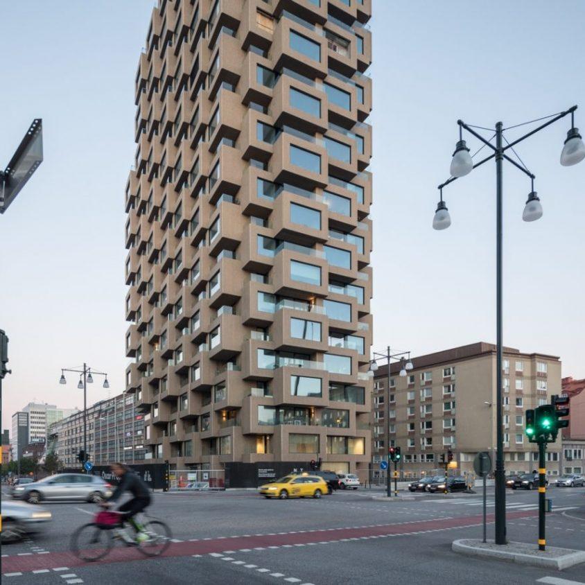 El primer edificio de Norra Tornen 3