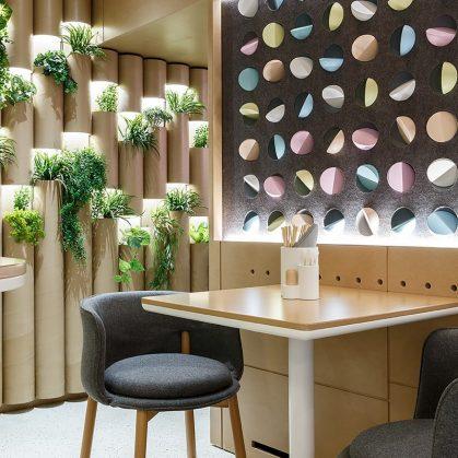 El restaurante Bao Mochi con estilo oriental 17