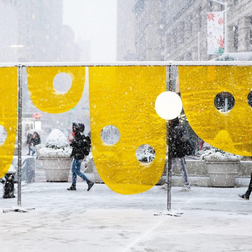 """Happy"", la ganadora de Flatiron Public Plaza Design Competition 7"