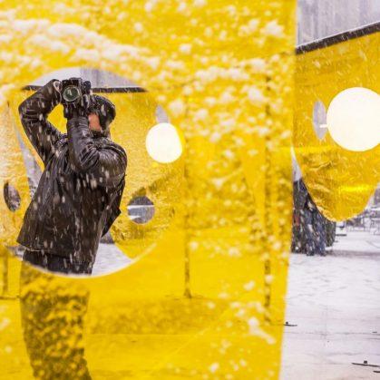 """Happy"", la ganadora de Flatiron Public Plaza Design Competition 13"