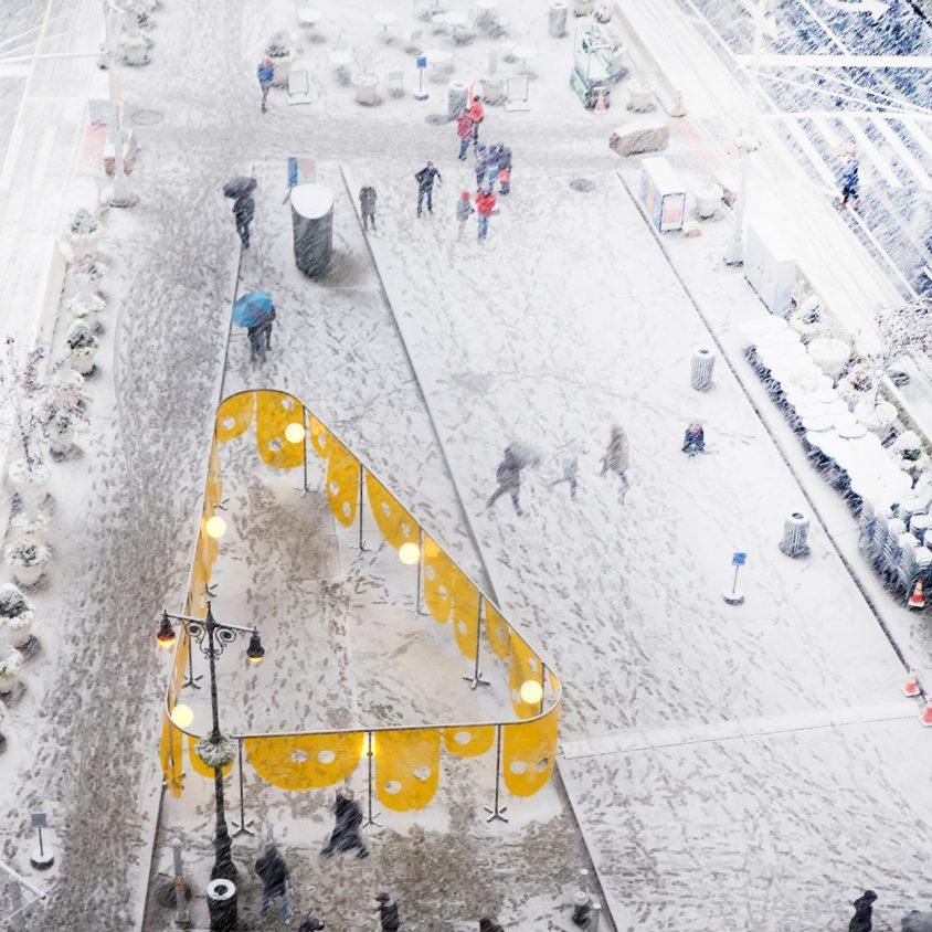 """Happy"", la ganadora de Flatiron Public Plaza Design Competition 2"