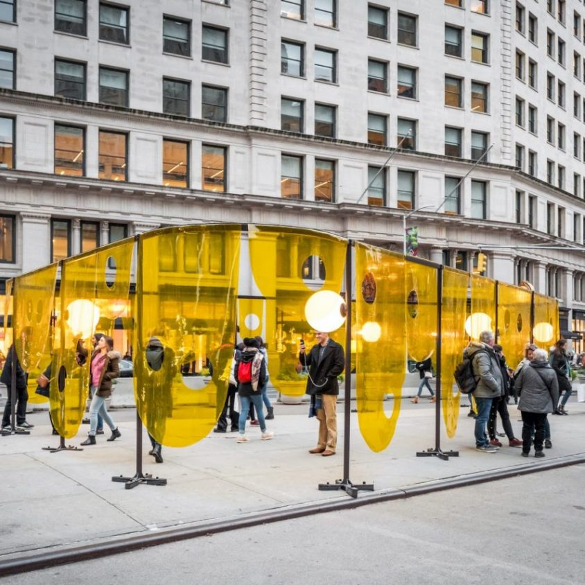 """Happy"", la ganadora de Flatiron Public Plaza Design Competition 11"
