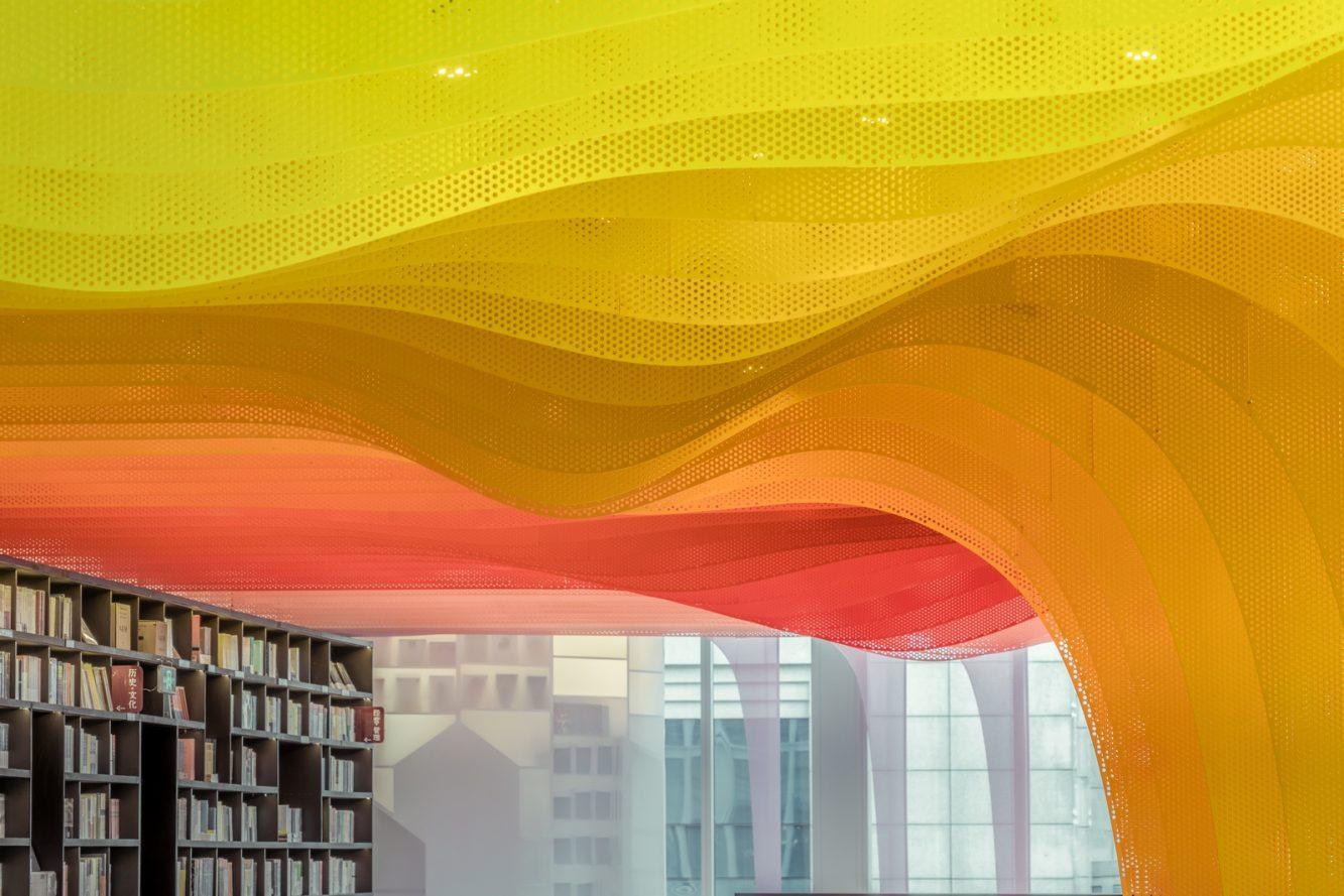 Un arcoiris en la librería Zhongshu 12