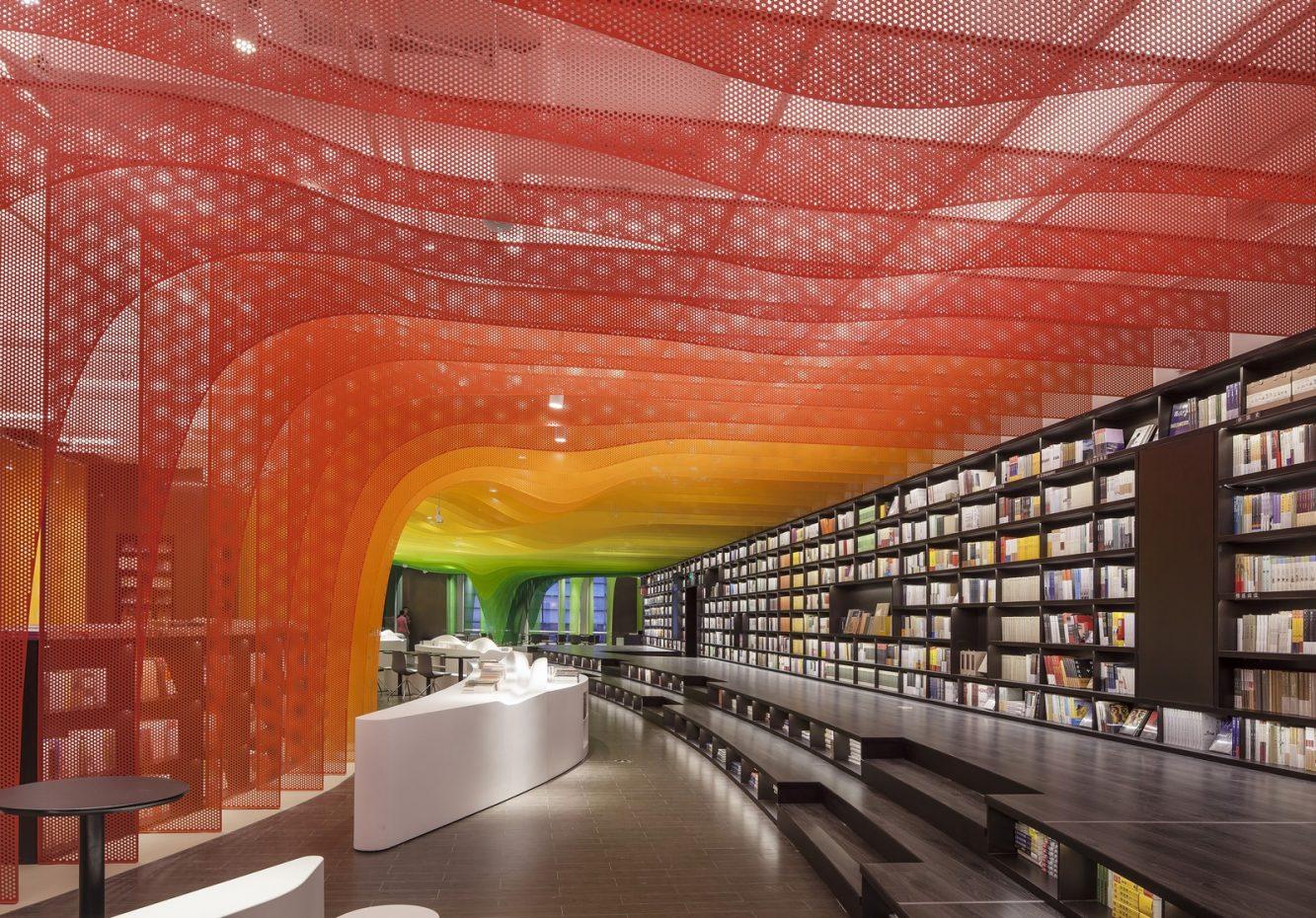 Un arcoiris en la librería Zhongshu 10