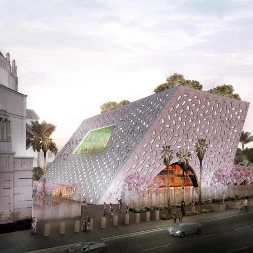 Comenzó la construcción del Audrey Irmas Pavilion 1