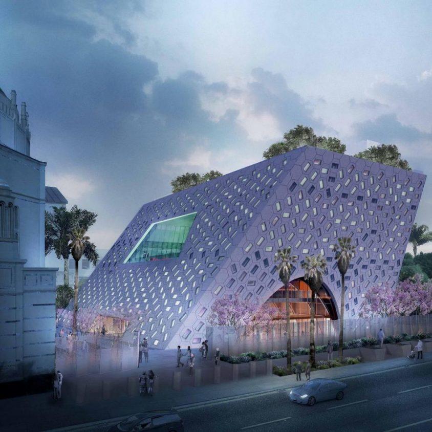 Comenzó la construcción del Audrey Irmas Pavilion 7