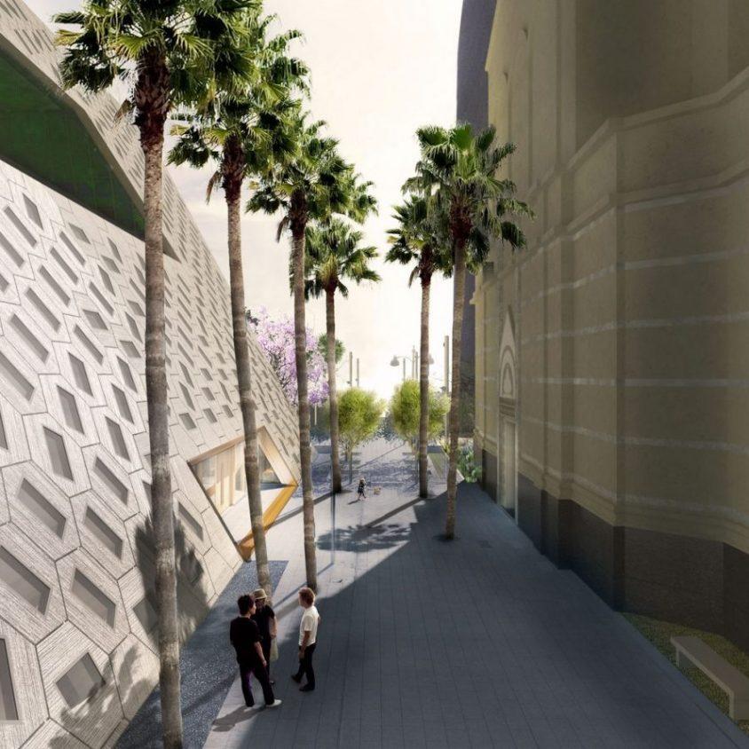 Comenzó la construcción del Audrey Irmas Pavilion 6