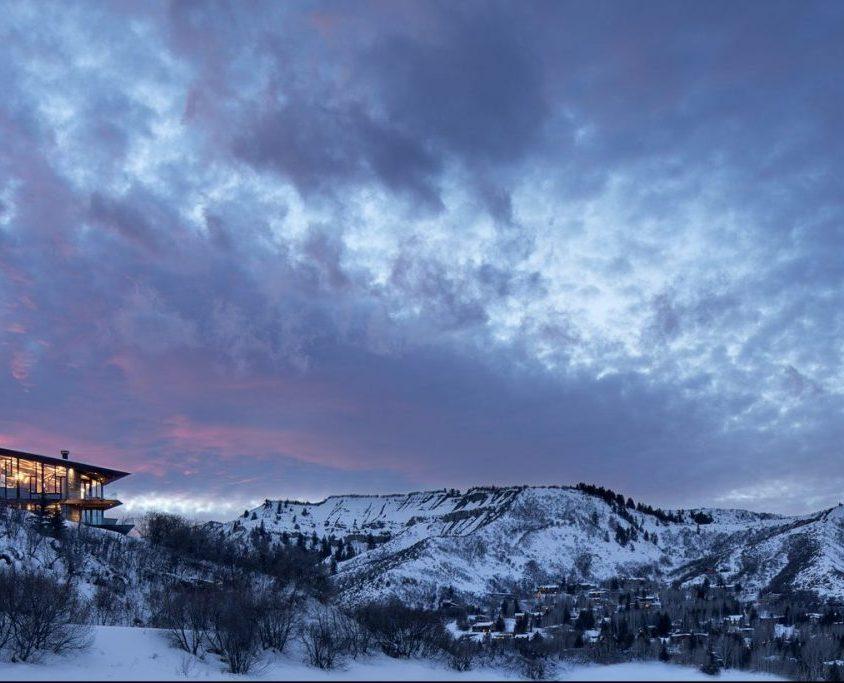 Owl Creek, una casa entre el cielo y las montañas 3